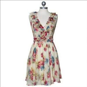 Sleeveless Floral Wrap Dress By Ark & Co.!
